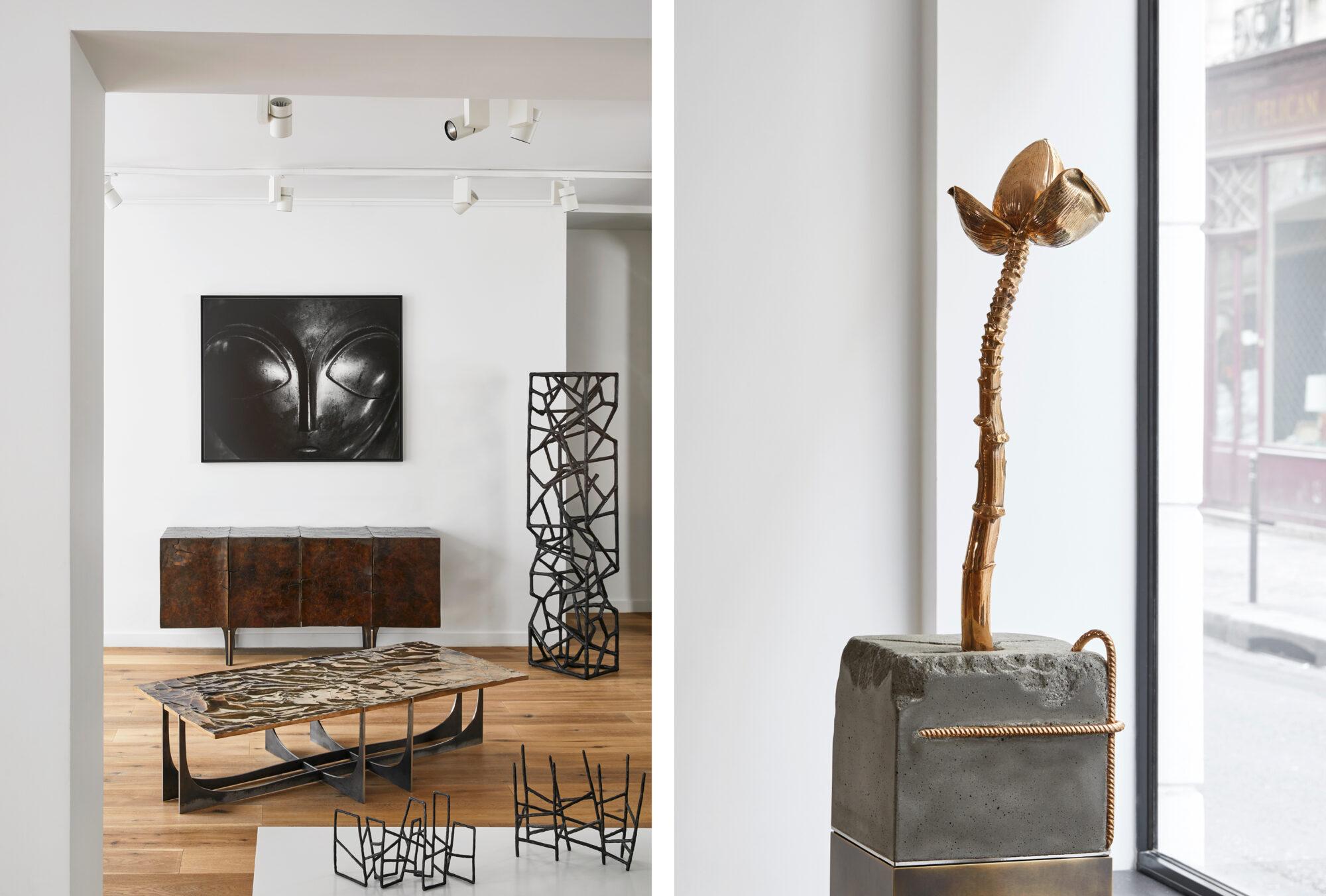 Baroque materials - Galerie Negropontes