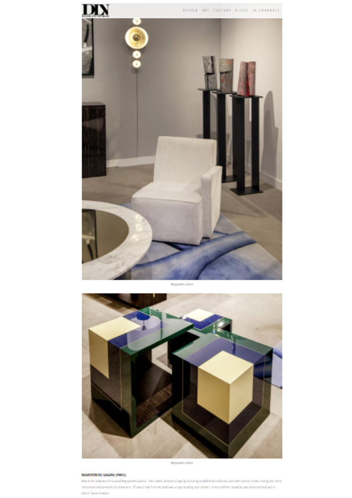 Presse - Galerie Negropontes