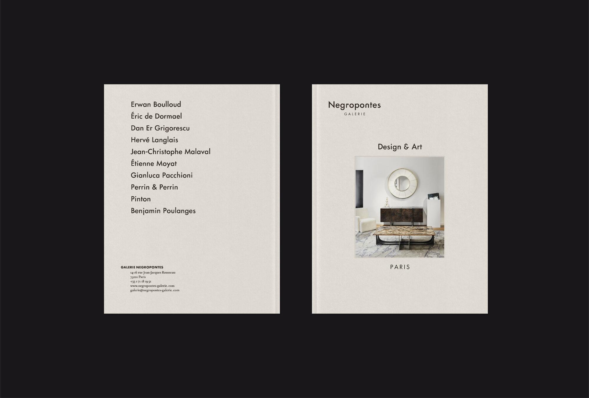Page d'accueil - Galerie Negropontes