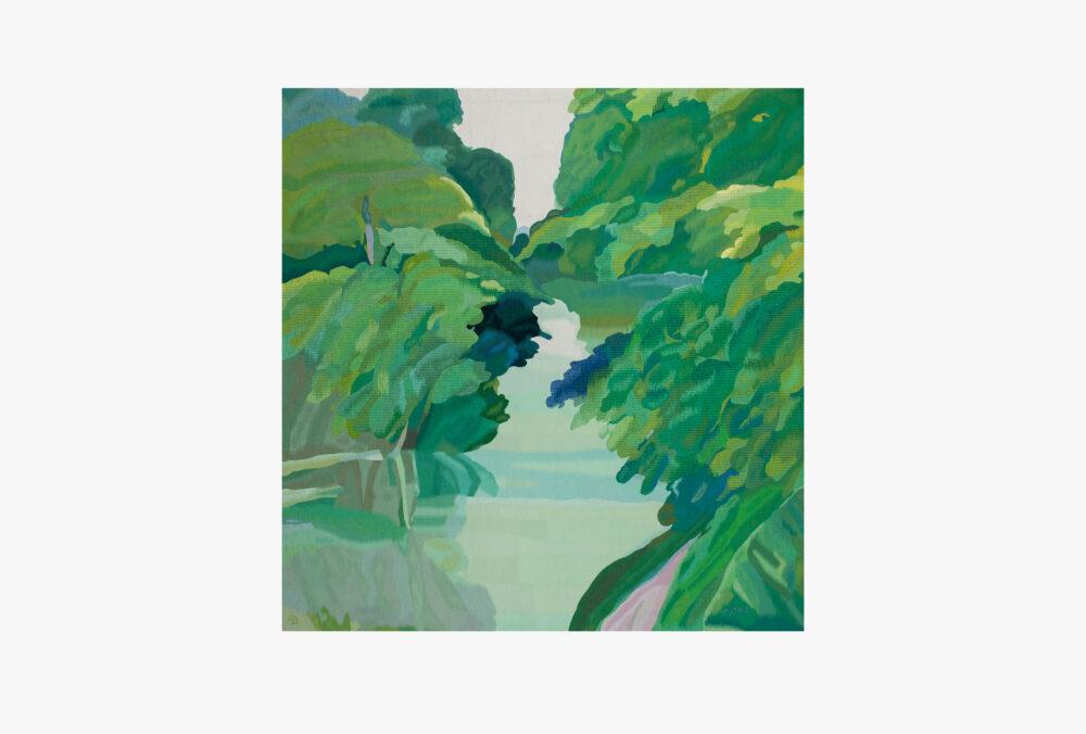 La rivière en été - Galerie Negropontes