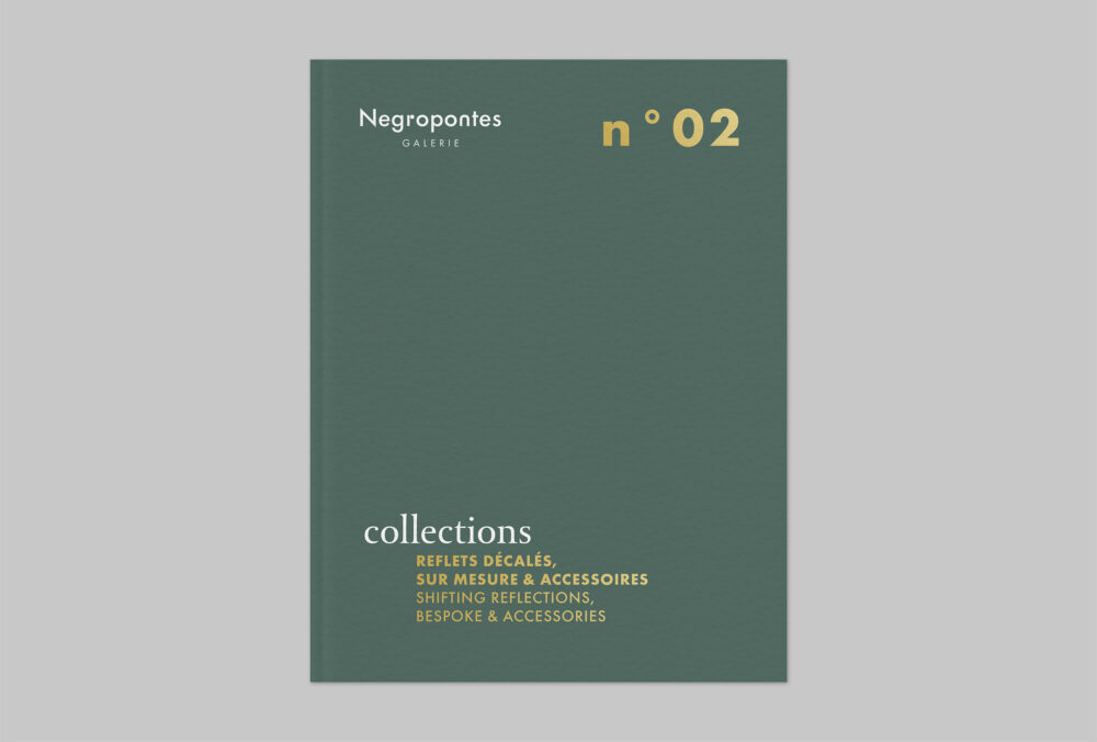 Shifting reflections, bespoke & accessories - Galerie Negropontes
