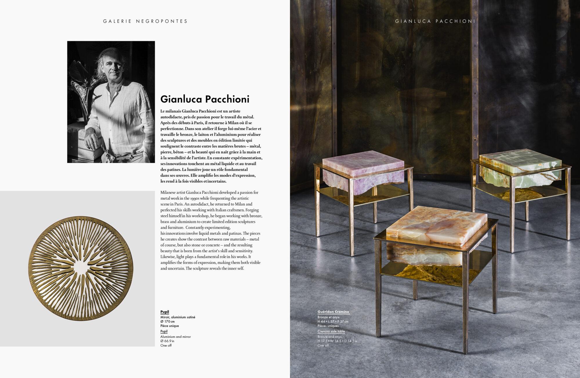 Design & Art - Galerie Negropontes